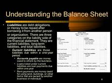 understanding balance sheets cash flow income statements farm econo