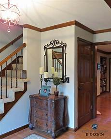 best paint color for dark trim oak floor m