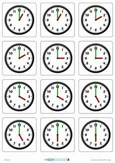 time worksheets 15580 create clock matching cards with various times telling time printable clock card
