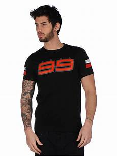 free shipping 2017 jorge lorenzo 99 moto gp large logo black t shirt racing moto gp cotton men s
