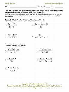 asymptotes of rational functions worksheet answer key breadandhearth