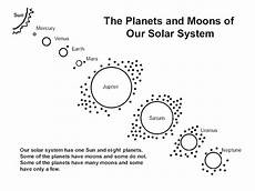 neptune planet worksheet the planets and moons of our solar system