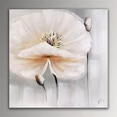 fleur blanche tableau floral modern peint 224 la sur
