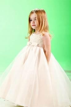puffy ball gown for little flower girls vivanspace
