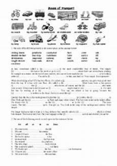 transport comprehension worksheets 15178 means of transport esl worksheet by karolinaszat