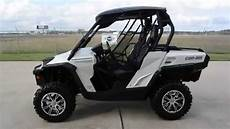 used 2013 can am commander 1000 limited