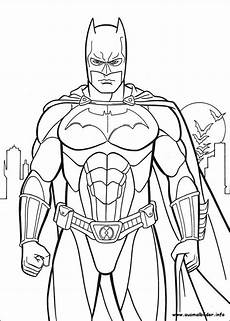 Malvorlagen Kinder Superhelden 7 Beste Ausmalbilder Batman Zum Ausdrucken Kostenlos