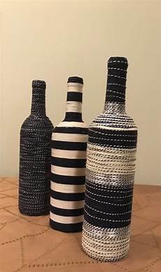 Verzierte Weinflasche Make 2018 Weinflaschen