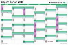 Bayern Kalender 2019 Mit Ferien Kalender 2018 Ausdrucken