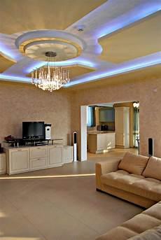 Wohnzimmer Decken Ideen - indirekte beleuchtung f 252 rs wohnzimmer 60 ideen