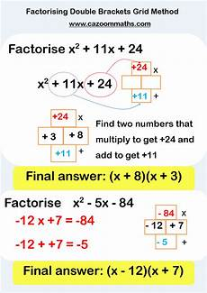multiplication worksheets ks4 4464 ks3 and ks4 factorising worksheets maths solutions gcse math math lessons
