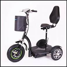 Elektro Scooter Mit Sitz Dreirad - dreirad elektroscooter mit sitz komfort