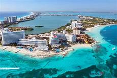 matteo colombo travel photography aerial view of cancun