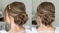 simple formal updo sue youtube