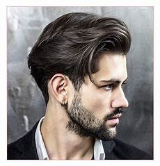 mid length hairstyle men fade haircut
