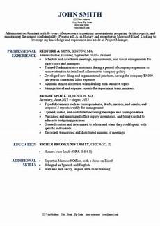basic and simple resume templates free download resume genius