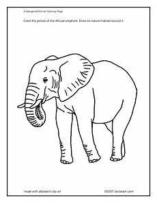 endangered animals coloring pages 16966 endangered animal coloring page worksheet for pre k 2nd grade lesson planet