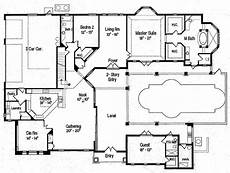courtyard pool house plans mediterranean courtyard pool house plans google search
