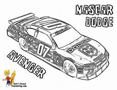 race car coloring pages free nascar