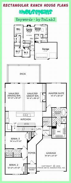 rectangular house plans wrap around porch rectangular ranch house plans rectangular ranch house