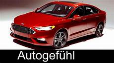 2017 New Ford Fusion Sport Ford Mondeo Facelift Exterior