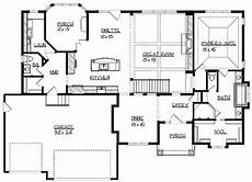 house plans 4000 to 5000 square feet characteristics of 4000 square foot ranch house plans