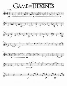 game of thrones main theme violin sheet music for