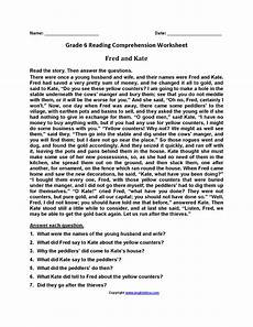 worksheets for grade 6 15418 reading worksheets sixth grade reading worksheets