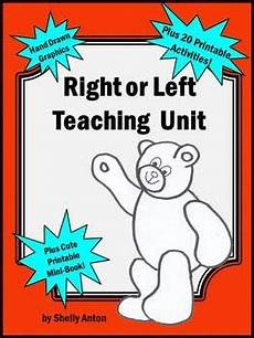 right or left teaching activities this 27 page teaching unit is full of printable early
