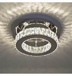 Led Deckenleuchte Kristall - deckenleuchte led kristall kreis design 248 30 cm diez