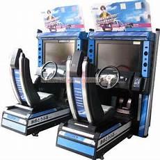 China Initial D5 Arcade Simulator Car Racing Machine