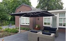 solero 174 palestro pro large cantilever parasol 4x4 or 4x3