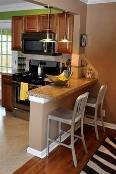Breakfast Bar Ideas For Small Kitchen by Small Breakfast Bar Idea For Tiny Kitchen Breakfast Bar