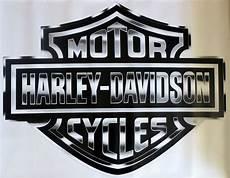harley davidson silver bar shield large trailer