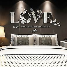 stickers deco chambre 3d mirror wall stickers quote flower vase acrylic