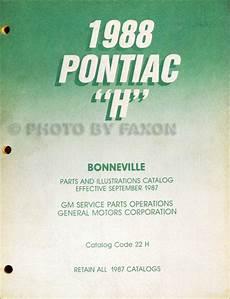 car repair manuals online free 1988 pontiac bonneville lane departure warning 1988 pontiac bonneville repair shop manual original