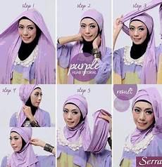 Contoh Tutorial Modern Pashmina Turban