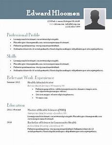 resume format header microsoft word resume template resume templates best resume template