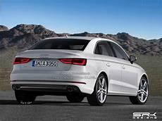 2016 Audi A3 Sedan Facelift Front Rear Rendering