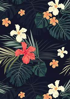 Tropical Gold Iphone Xr Wallpaper Flowers