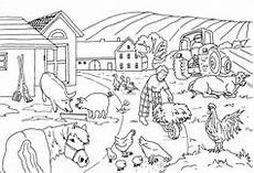 Ausmalbilder Bauernhof Pdf Als Pdf Natur Wald Tiere Pinteres