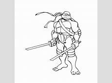Teenage mutant ninja turtles kleurplaten