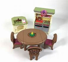 loving family kitchen furniture loving family dollhouse furniture kitchen dining room