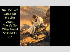 no one like jesus lyrics