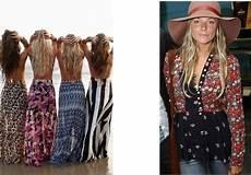 mode hippie chic femme julie bas