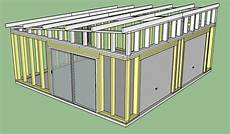 Fabrication D Un Garage Ossature Bois Copain Des