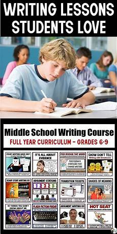 worksheets for elementary 18553 middle school writing course year grades 6 9 writing courses middle school writing