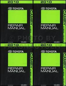 car repair manual download 2010 toyota camry hybrid auto manual 2010 toyota camry hybrid repair shop manual original 4 volume set