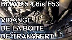 bmw x5 e53 vidange de la boite de transfert
