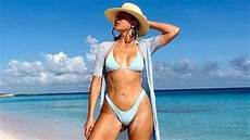 khloe kardashian bikini khloe kardashian has proof she didn t photoshop her bikini
